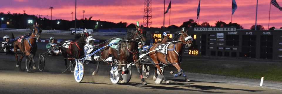 Racing returns to Hippodrome Trois- Rivières !!! ***WITHOUT SPECTATOR***